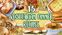 13 Vegetarian Dinner Recipes | Veggie Main Course Super Compilation| Well Done