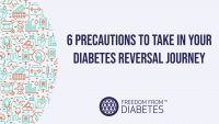Diabetes Reversal – 6 Precautions if following the 2-Meal Plan/Dr. Dixit Diet –  FFD