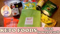 Keto Foods – Essential Low Carb Food Shopping list for UK and US Carb Food Labels June's Favourites