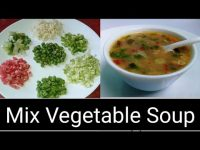 Mixed Vegetable Soup Recipe | Soup Recipe | Healthy Vegetarian Soup
