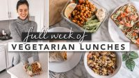 Healthy Vegan/Vegetarian Lunch Ideas From Monday to Friday   by Erin Elizabeth
