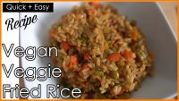 EASY VEGGIE FRIED RICE RECIPE FROM SCRATCH   VEGAN & VEGETERIAN FRIENDLY MEAL Ft. INSTANT POT RICE