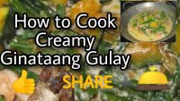 How To Cook Healthy Food / Healthy Diet this Pandemic / Safe Food during Pandemic / Ginataang Gulay