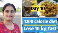 Indian diet plan for weight loss | Full day diet plan for weight loss | 1200 calorie |Lose 10kg fast