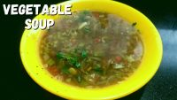 Vegetable Soup | Mixed Vegetable Soup Recipe | Healthy Vegetarian Soup | Veg Recipes With Vaishali