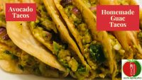 Homemade Avocado Tacos | Mexican style Guacamole Tacos  | Easy Vegetarian Snack | Healthy Recipe