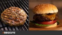 Grilled Veggie Burger Recipe with Black Beans, Chickpeas & Roasted Vegetables   BBQGuys