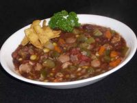 Vegetarian Chili Recipe, A Super Bowl Delight | Show Me The Curry