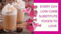 Great Low Carb Food to Replace your Old Favourites on a Low Carb or Keto Diet