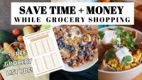 The Ultimate Guide to Budget Friendly Grocery Shopping + Meal Planning FREE PDF GROCERY LIST