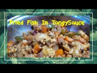 Valentine's Day Special Recipe 💕💖 || Fried Fish In Tangy Sauce 😋 With Veggies