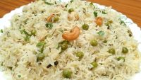 Matar Pulao Recipe   Simple Vegetarian  Rice Dish   Easy & Quick Matar Pulao  Flavours Of My Kitchen