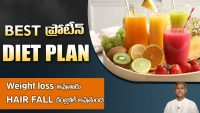 High Protein Diet Plan for Weight Loss | Controls Hairfall | Dr. Manthena's Health Tips