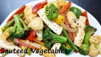 SAUTEED VEGETABLES | Low Carb Veggie Recipe | Stir Fried Veggies | Vegetable Stir Fry | Mix Veg Dry