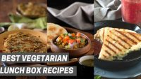 Monday to Friday Vegetarian Breakfast Recipes without Eggs – Vegetarian Lunch Box Ideas