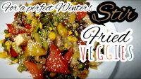 Stir Fried Veggies || One-pot Recipe || Vegetable Main Course || Yummy & Healthy Veggies Stir-fried