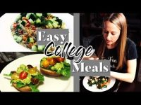 QUICK & EASY COLLEGE MEAL IDEAS WITH TYPE 1 DIABETES
