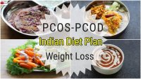 PCOS/PCOD Diet – Indian Veg Meal Plan For Weight Loss  -Full Day Diet Plan For PCOD | Skinny Recipes