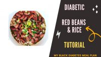Cook Red Beans & Rice with My Black Diabetes Meal Plan