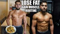 My Perfect Diet & Training Routine To Lose Fat And Gain Muscle *natural? being honest*