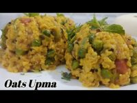 Oats Upma | ओट्स उपमा | healthy oats recipe | oats veggies upma | Manshree's Recipes.