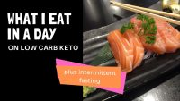 WHAT I EAT IN A DAY | on low carb keto with intermittent fasting