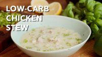 Low-carb hearty chicken and vegetable stew