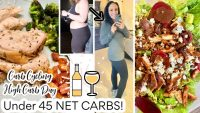 EATING UNDER 45G NET CARBS | WHAT I EAT IN A DAY LOW CARB & CARB CYCLING | lil Piece of Hart