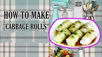 Low Carb Food Cabbage Roll Making